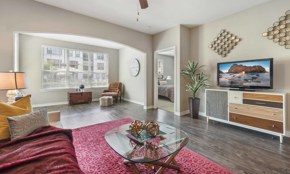 Spacious living room at Archer Stone Canyon