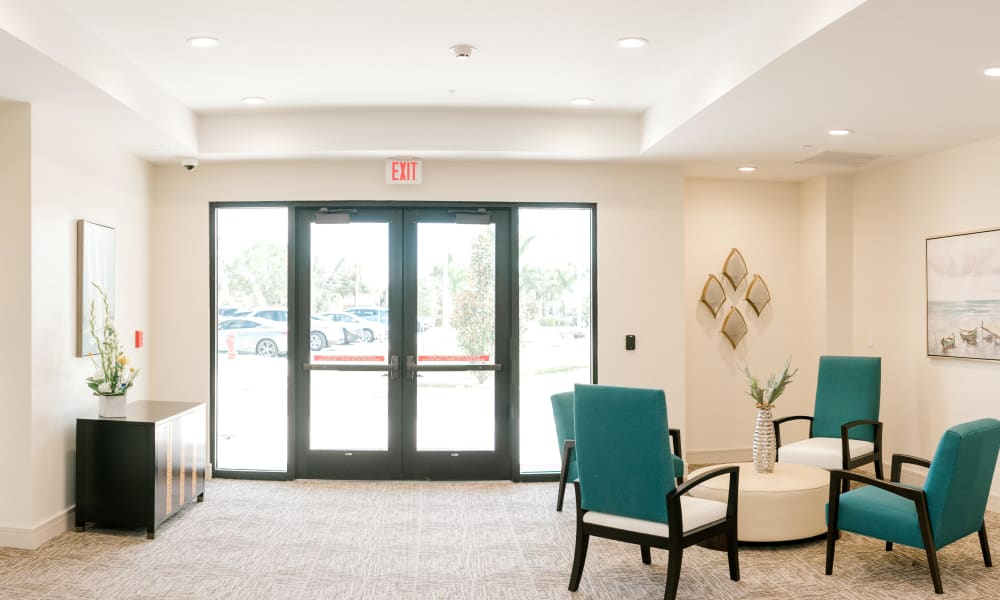 Entry way at Keystone Place at Four Mile Cove
