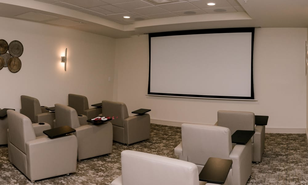 Movie theater at Keystone Place at Four Mile Cove