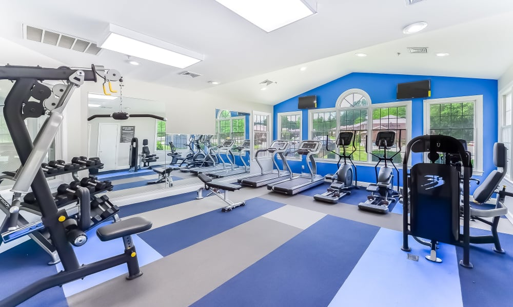 Fitness center at Marchwood Apartment Homes