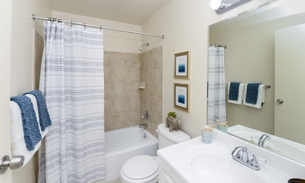 Bathroom at Marchwood Apartment Homes