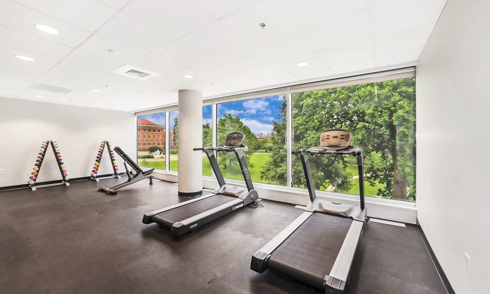 fitness center cardio