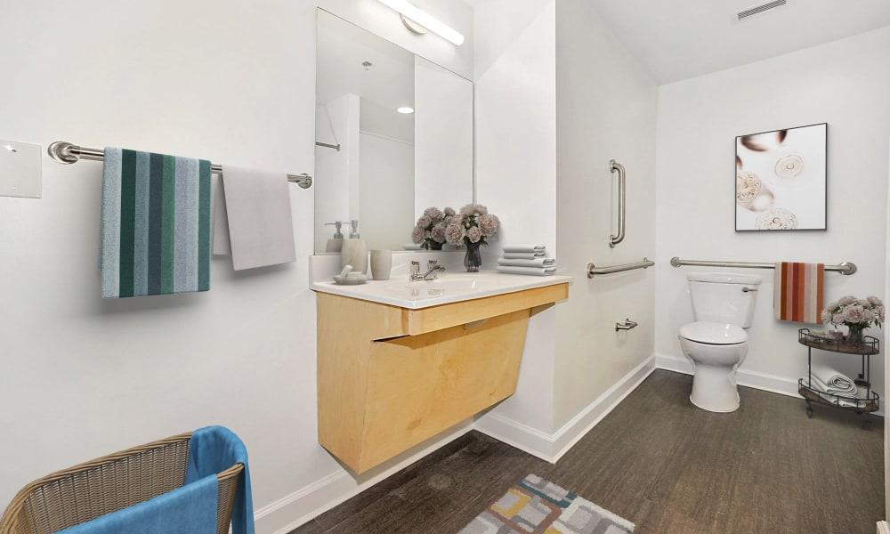 renovated home bathroom