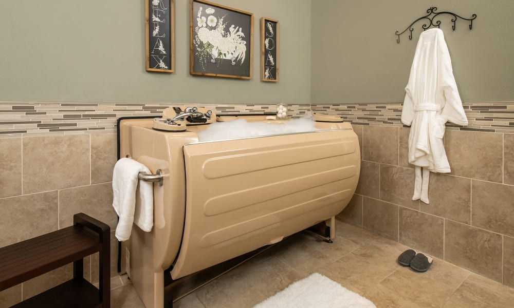 Spa Amenities at Willow Creek Memory Care at Lee's Summit