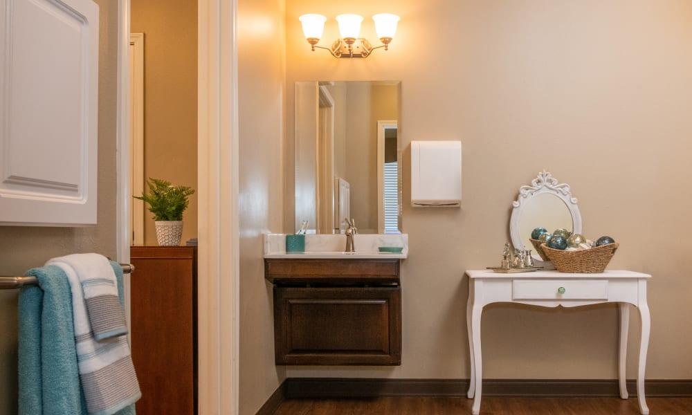 Washroom at Willow Creek Memory Care at Lee's Summit