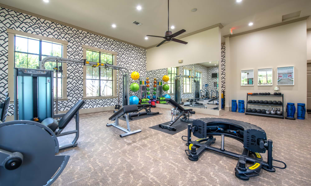 Fitness Center at Olympus Team Ranch in Benbrook, Texas