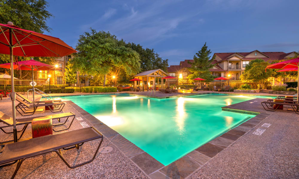 Luxury Swimming Pool at Apartments in Benbrook, Texas
