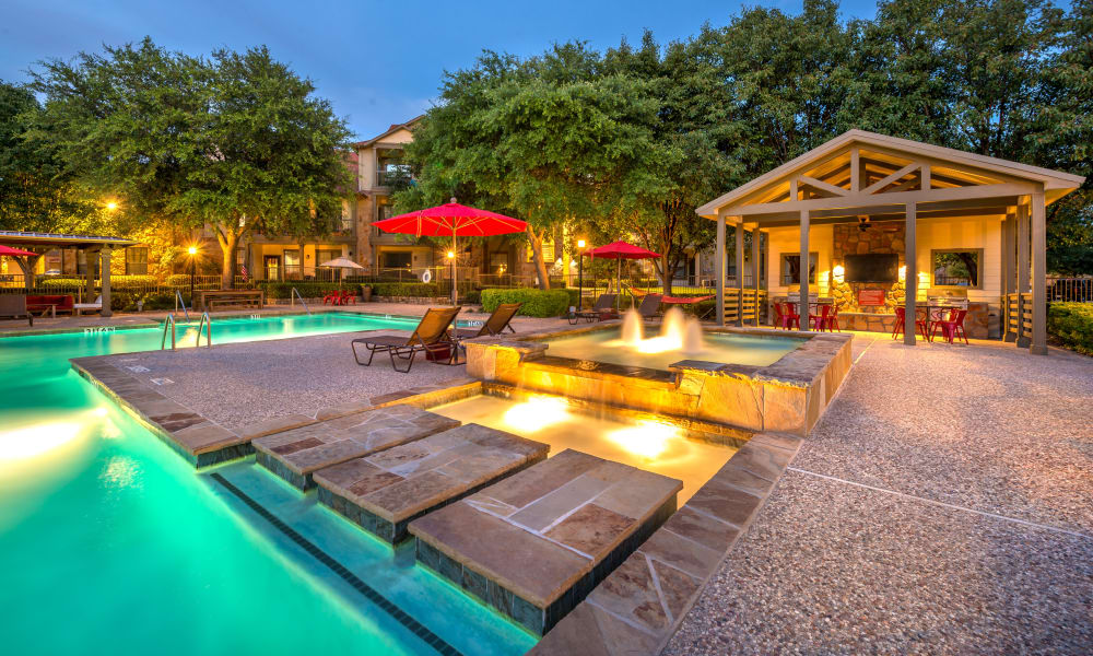 Olympus Team Ranch offers a Beautiful Swimming Pool in Benbrook, Texas