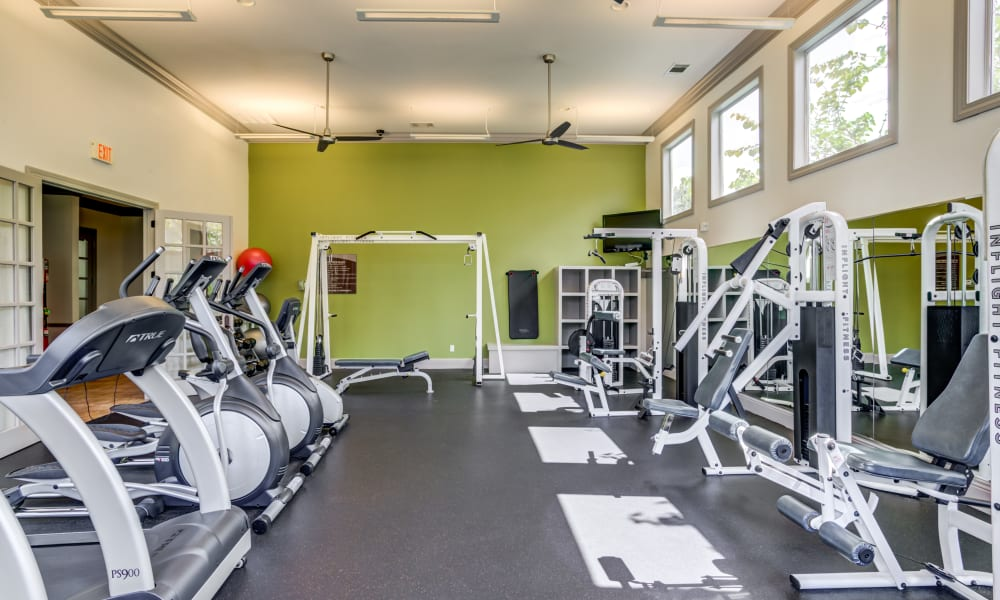 Fitness Center at The Villas at River Park West in Richmond, Texas