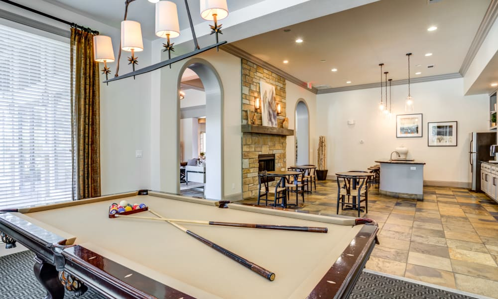 Clubhouse at The Villas at River Park West in Richmond, Texas