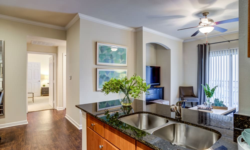 The Villas at River Park West offers a Kitchen in Richmond, Texas