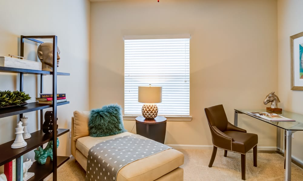 office at The Villas at River Park West in Richmond, Texas
