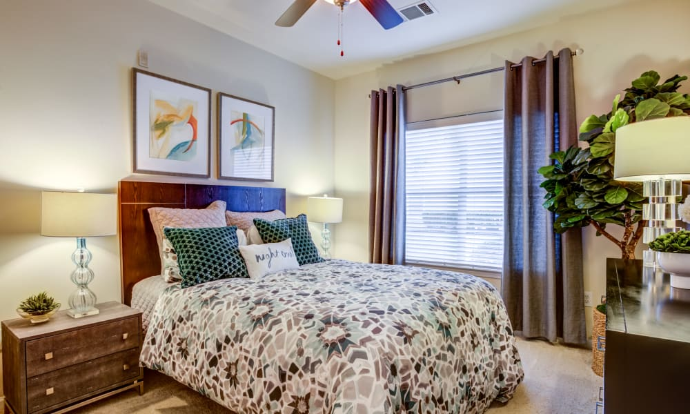 Bedroom at The Villas at River Park West in Richmond, Texas