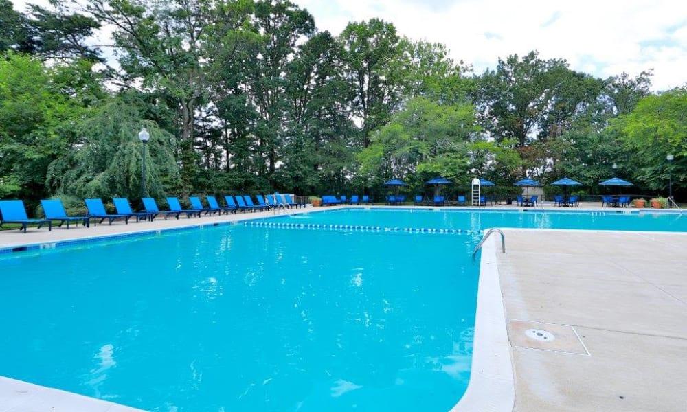 Spacious Pool at Lynbrook at Mark Center Apartment Homes in Alexandria, VA