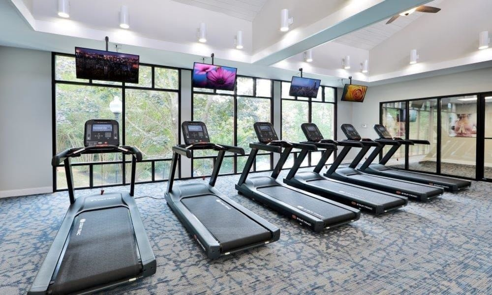 Gym at Brookdale at Mark Center Apartment Homes in Alexandria, Virginia