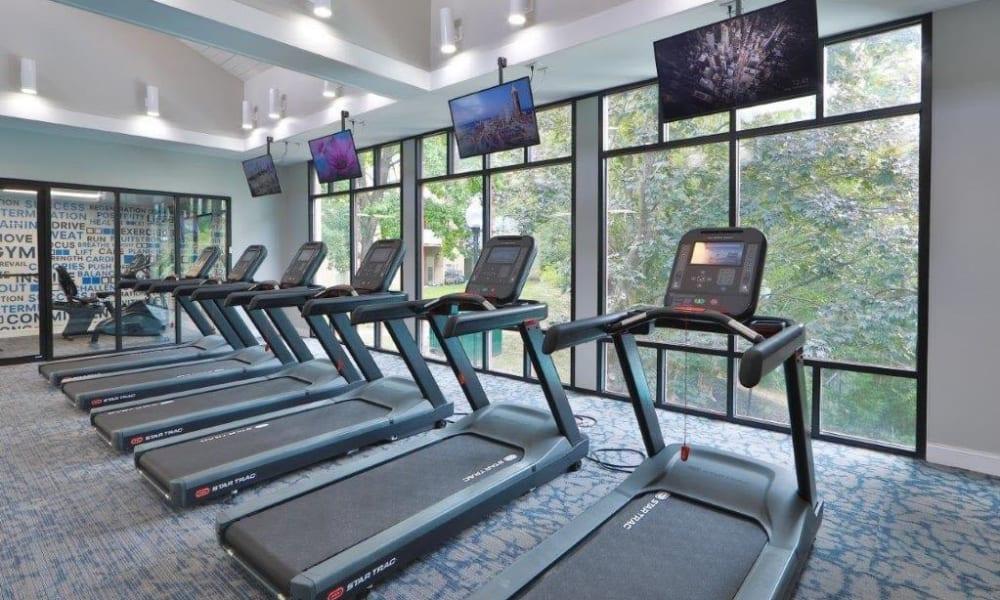 Spacious Gym at Brookdale at Mark Center Apartment Homes in Alexandria, VA