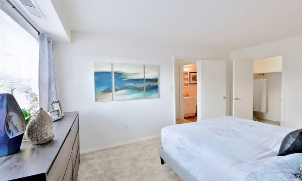 Beautiful Bedroom at Towson Crossing Apartment Homes in Baltimore, MD