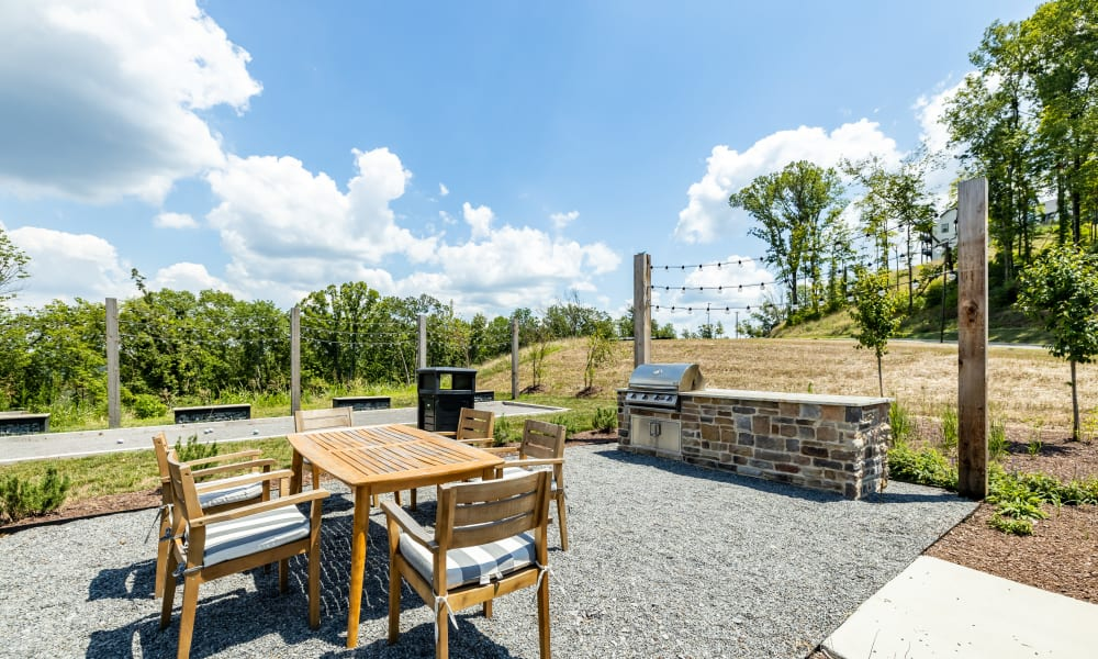 BBQ Picnic Area at Rivertop Apartments in Nashville, Tennessee