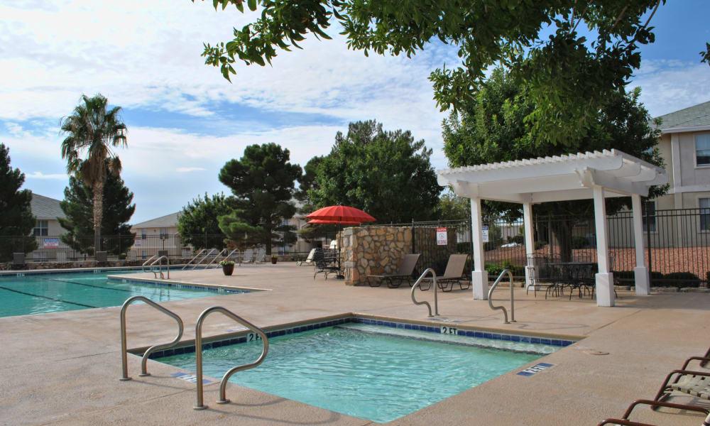 A hot tup at The Patriot Apartments in El Paso, Texas