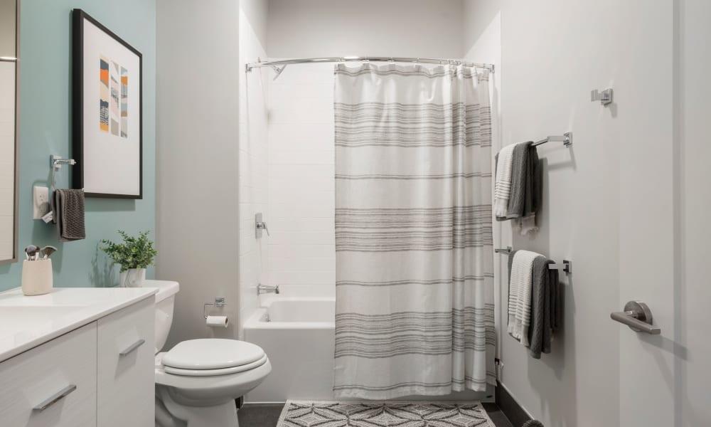 Bathroom at  Velō in Boston, Massachusetts