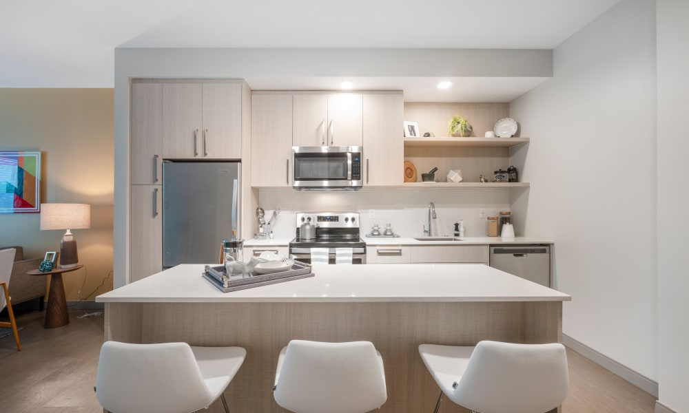 Kitchen at Velō in Boston, Massachusetts