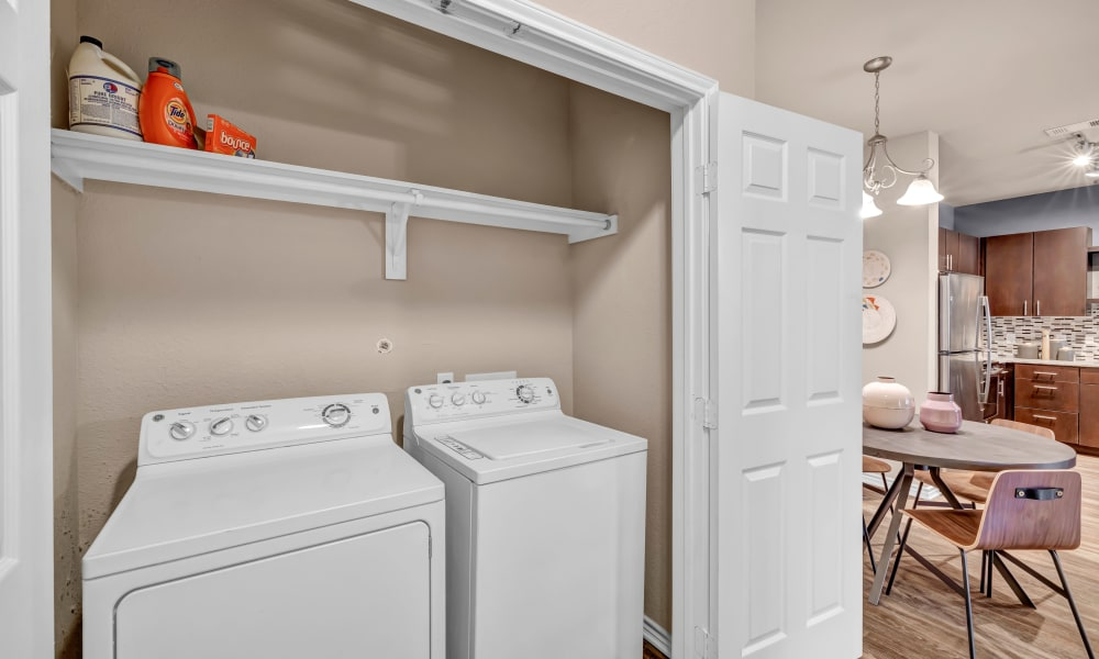 Apartment Washer & Dryer |  Wiregrass at Stone Oak