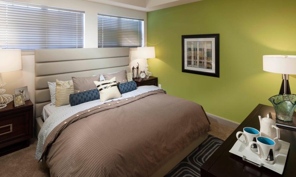 Bedroom with comfortable bed at Bellrock Bishop Arts in Dallas, Texas