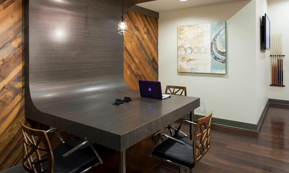 Meeting area at Bellrock Bishop Arts in Dallas, Texas