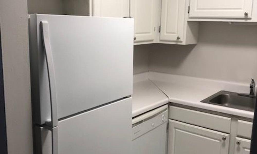 Kitchen at Mandalane Apartments in Wheeling, Illinois