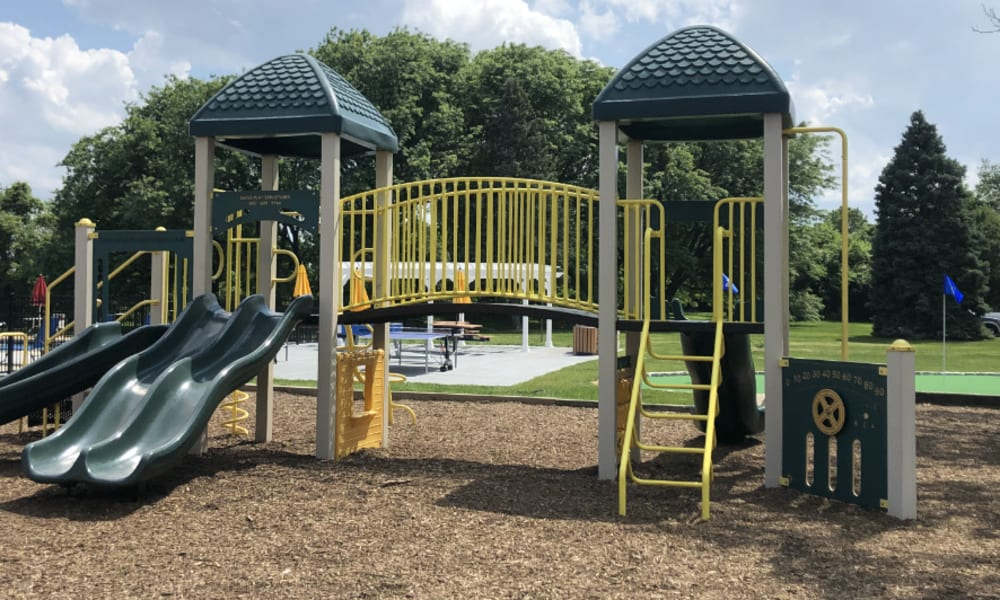 Playground area at William Penn Village Apartment Homes in New Castle, Delaware
