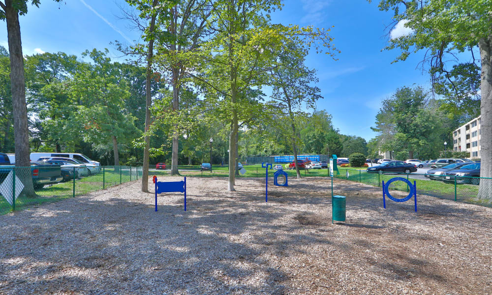 Dog Park at The Reserve at Greenspring in Baltimore, Maryland