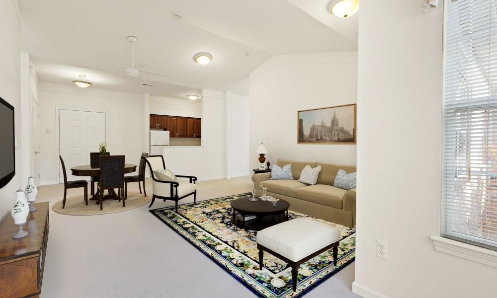 Living room at Waltonwood Main