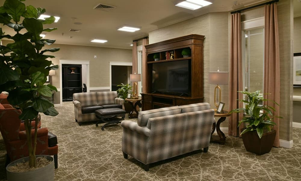 Parkway Cove Television Lounge and Living Room