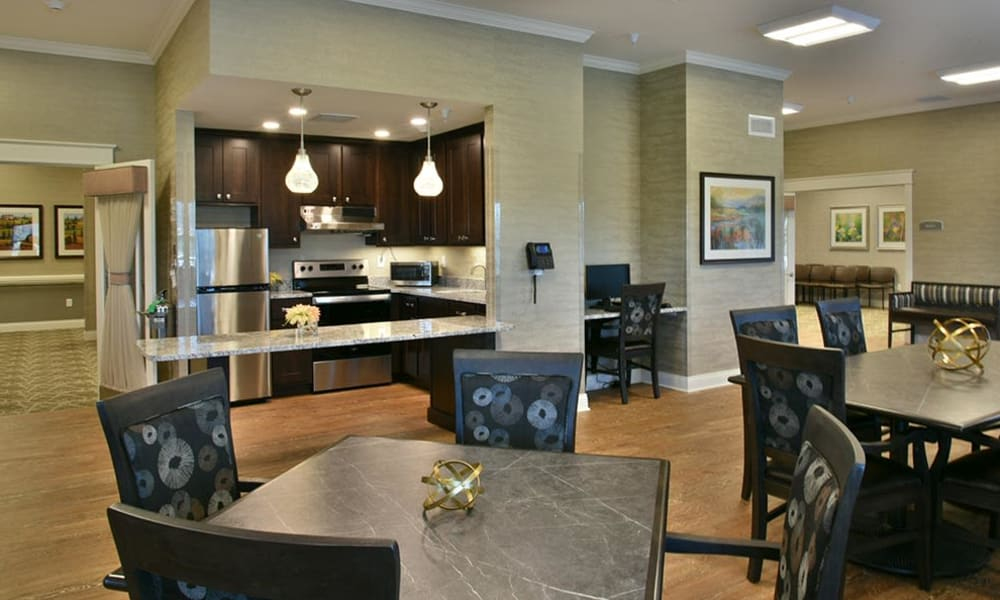 Resident Cafe and Activities Room at Parkway Cove in Covington, Tennessee