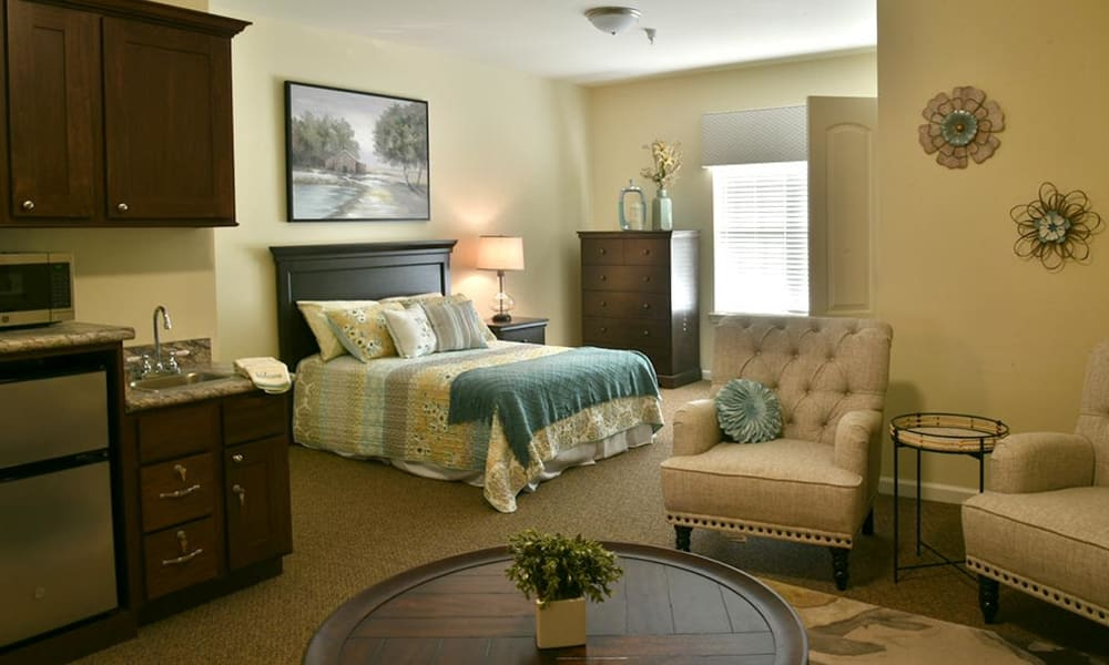 Private Alcove Room at Parkway Cove in Covington, Tennessee