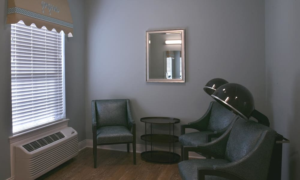 On Site Beauty and Barber Salon at Parkway Cove in Covington, Tennessee