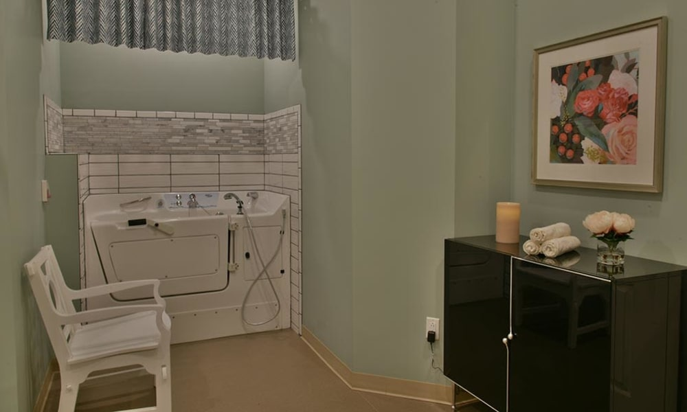 Assisted Bathing Spa at Parkway Cove in Covington, Tennessee