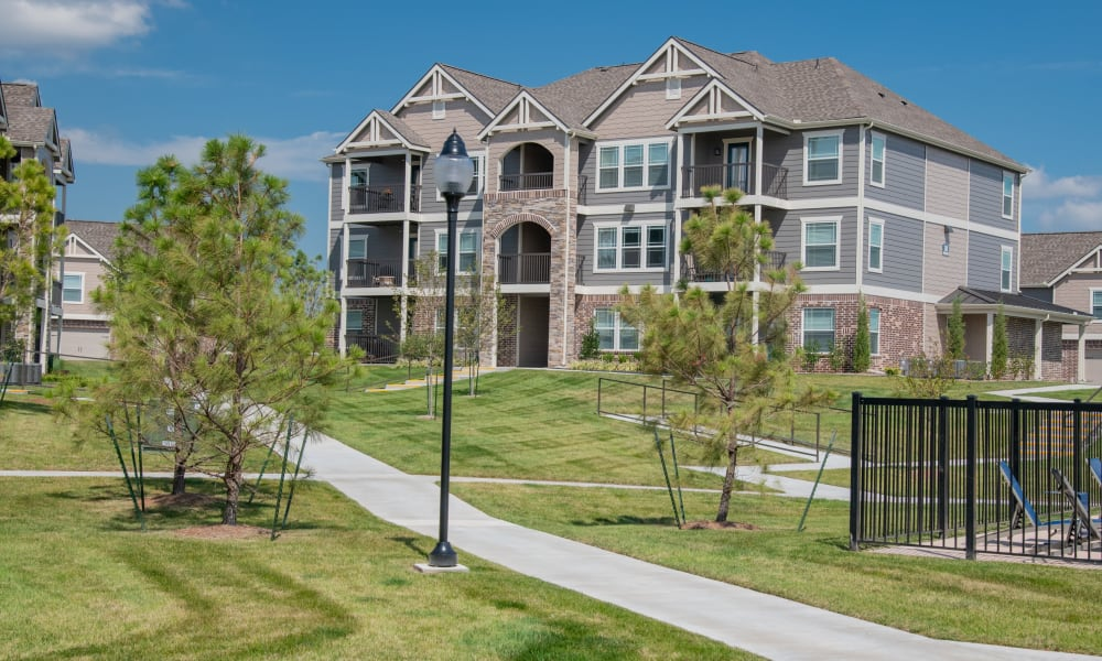 Exterior clear sky's at Artisan Crossing in Norman, Oklahoma