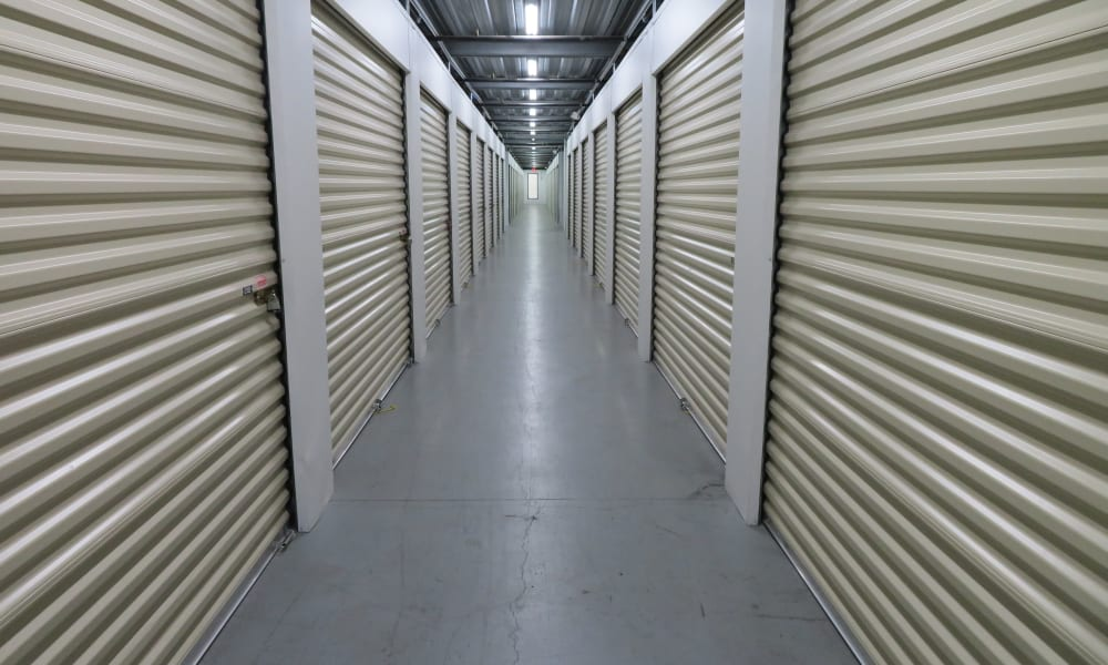 Temperature controlled storage units at Stop-N-Go Storage in Jacksonville, Florida