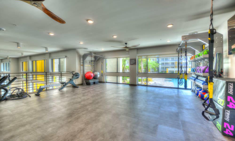 Gym at Fusion