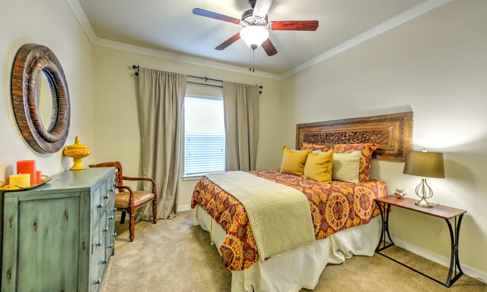 Cozy Bedroom in model home at Hacienda Club in Jacksonville, FL