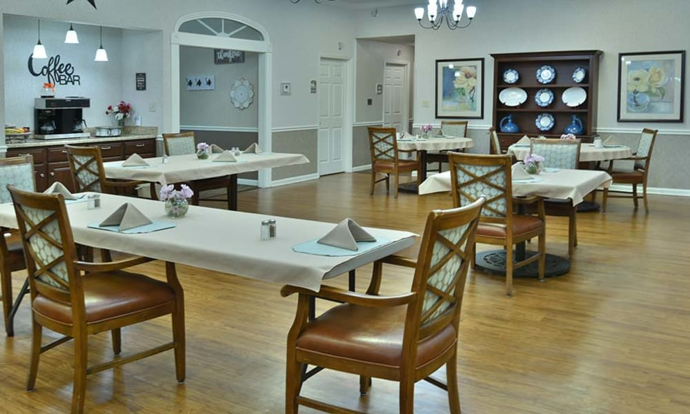 Dining Room at Spring Ridge in Springfield, Missouri
