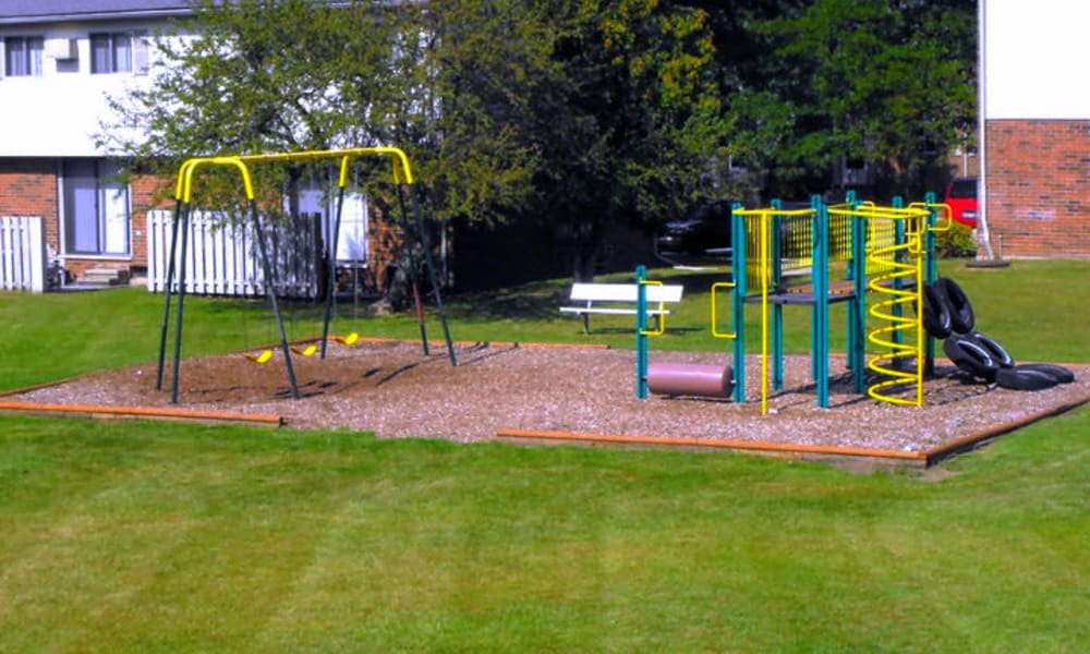Playground at Autumn Woods Apartments & Townhomes in Jackson, Michigan