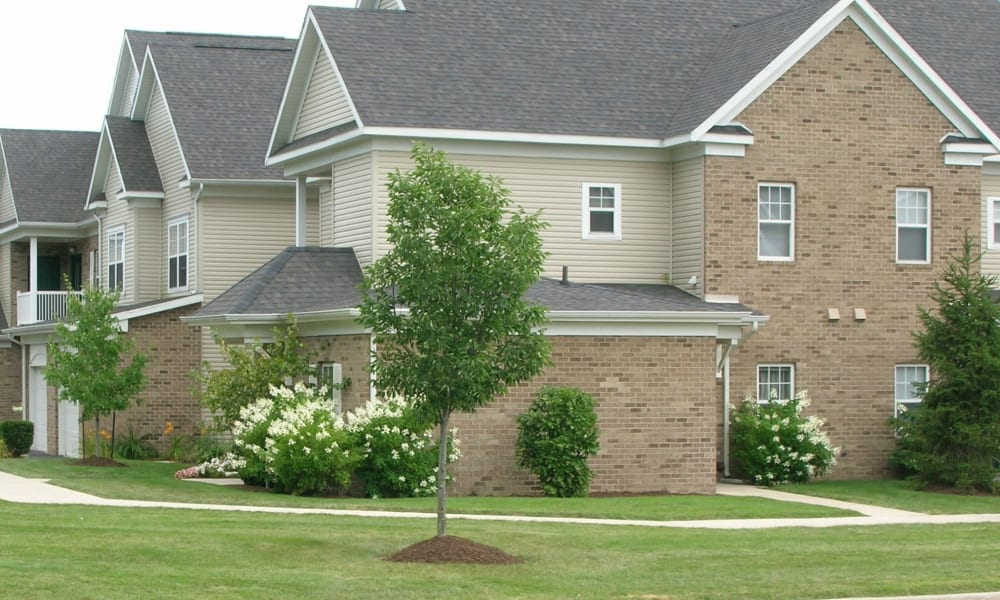Spacious townhome at Avalon at Northbrook Apartments & Townhomes in Fort Wayne, Indiana