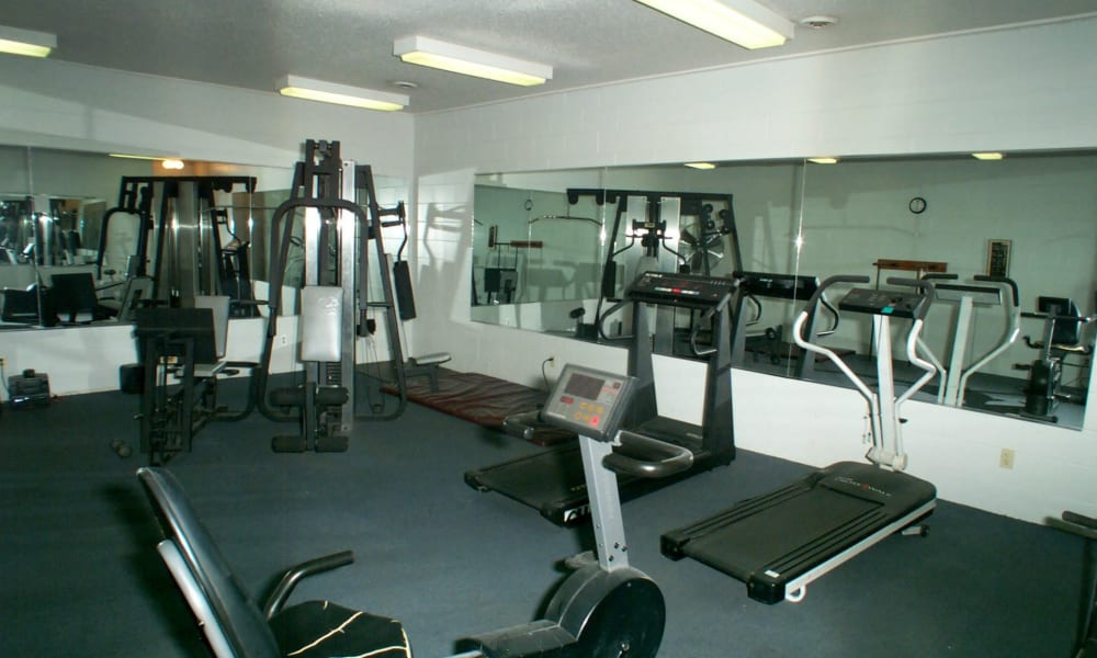 Gym at Briarcliffe Apartments & Townhomes in Lansing, Michigan