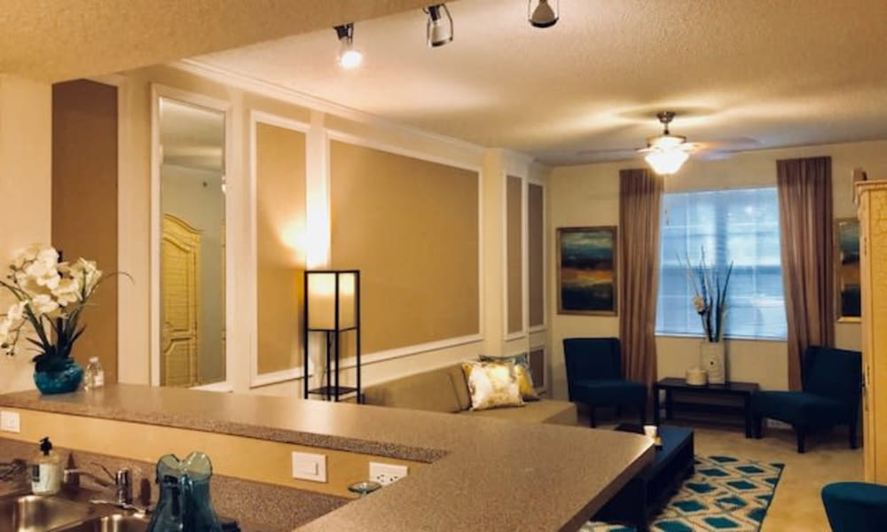 Spacious floor plan at Camino Real Apartment Homes in Boca Raton, Florida