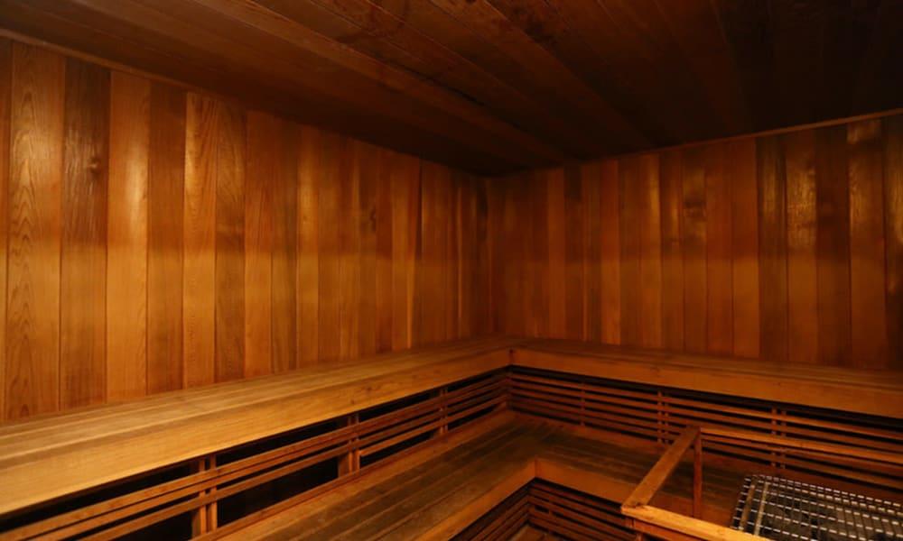 Sauna at Camino Real Apartment Homes in Boca Raton, Florida