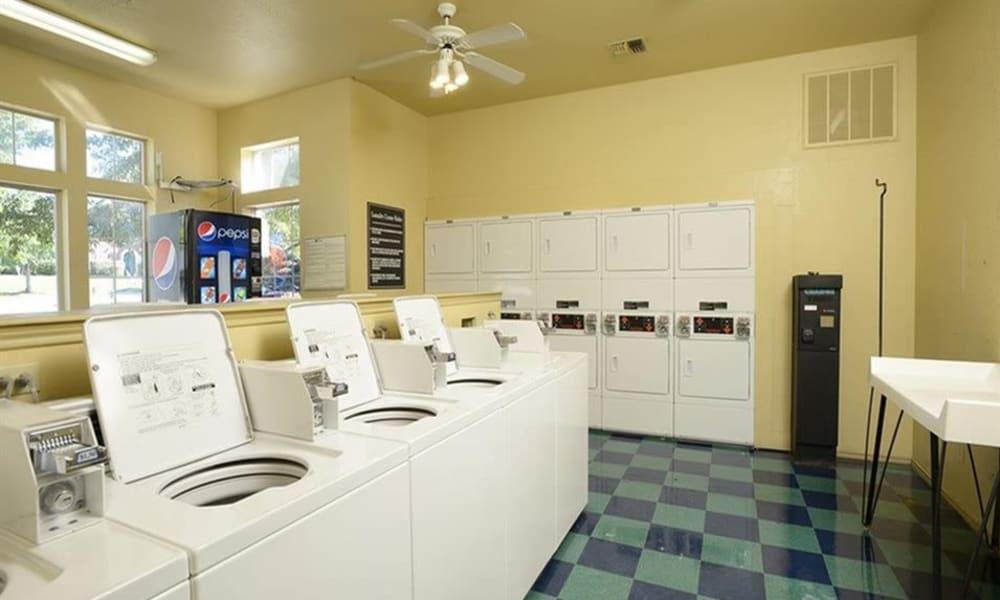 Laundry room at Century Lake Apartments in Cincinnati, Ohio