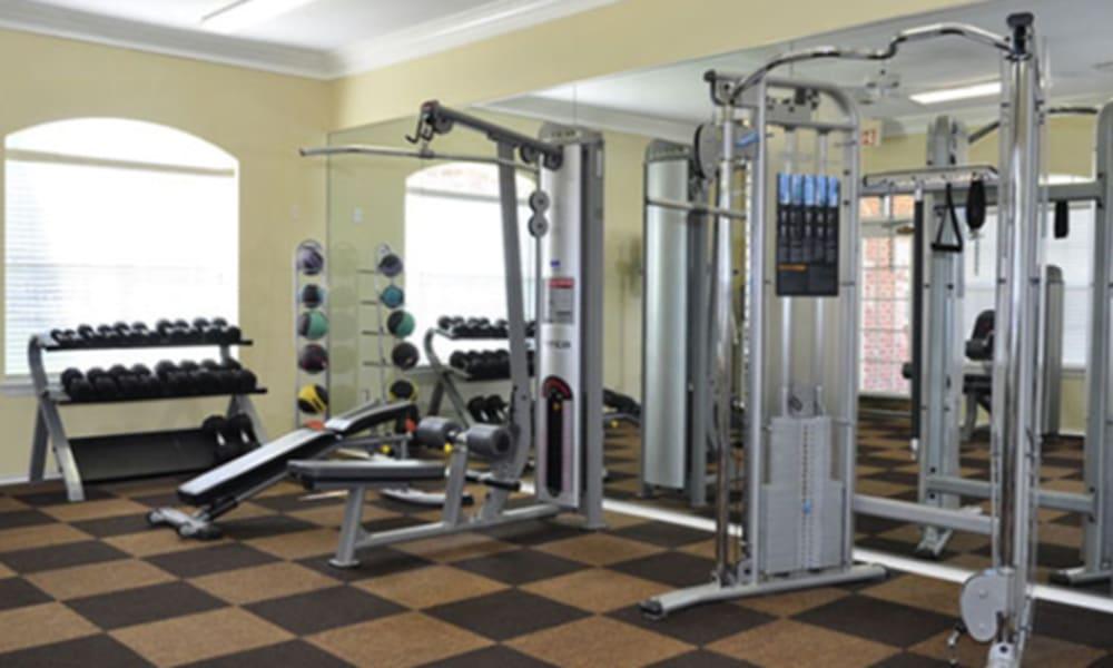 Gym at Champion Lake Apartment Homes in Shreveport, Louisiana