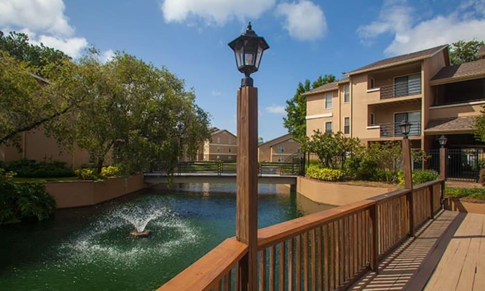 Fountain at Tuscany Pointe at Tampa Apartment Homes in Tampa, Florida